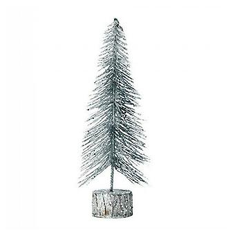 Christmas Collection Silver Glitter Christmas Tree Decor - 11.5 inches, Pack of 1