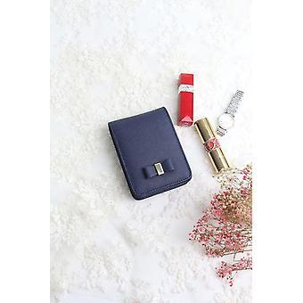 Fashion Mini Lipstick Case Cute Candy Color Saffiano Echte Lederen Cosmetische Organizer Pouch Bag