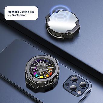 Tragbare magnetische Universal Handy Kühler Telefon Lüfter Gehäuse USB Cooling Pad Gaming Mute Radiator Clamp Kühler Kalt