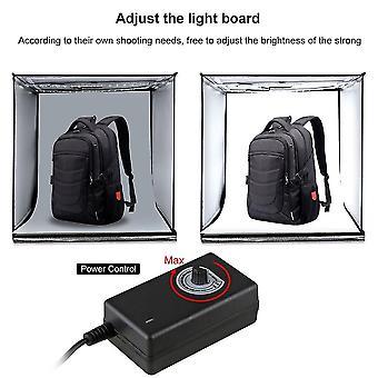 Puluz 40*40cm Foldable Led Light Box Photo Studio Photography Tent Box Kit