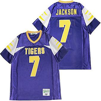 Men's Lamar Jackson #7 High School Football Jersey, Stitched Movie Football Jerseys Sports Short Sleeve T-shirt Size S-xxxl