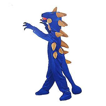 Dinosaur kostuums Kids Kerstmis Jurassic Park Cosplay Bodysuit met handschoenen Schoenen
