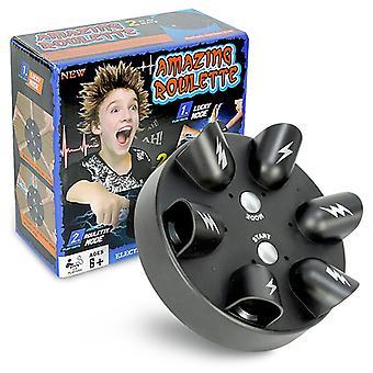 Qian Descarga eléctrica en miniatura Detector de mentiras Lucky Electric Shock Finger Toys Descompresión Juguetes creativos