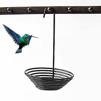 Outdoor hangende metalen vogel feeder antislip voedseldispenser voor kleine vogels