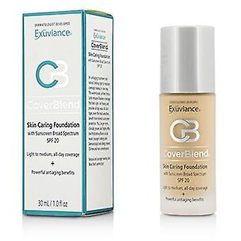 Coverblend Skin Caring Foundation Spf20 - # Blush Beige - 30ml/1oz