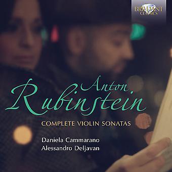A. Rubinstein - Rubinstein: Komplett violinsonater [CD] USA import