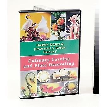 Importare culinario decorazione intaglio & piastra [DVD] Stati Uniti d'America