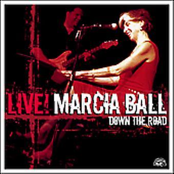 ¡Marcia Ball - Live! Por el camino [CD] USA importar