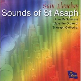 Importação de Bruhns/Bach/Edwards - sons dos EUA St Asaph [CD]