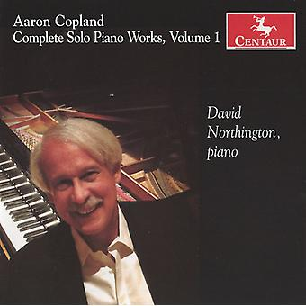 A. Copland - Copland: Complete Solo Piano Works, Vol. 1 [CD] USA import