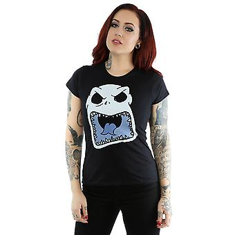 Disney Women's Nightmare Before Christmas Jack Skellington Scary Face T-Shirt