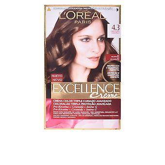 L'Oreal udgør Excellence Creme Tinte #4,3 chokolade karamel For kvinder