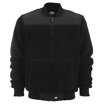 Dickies Dillsburg Fleece Bomber Jacket Black