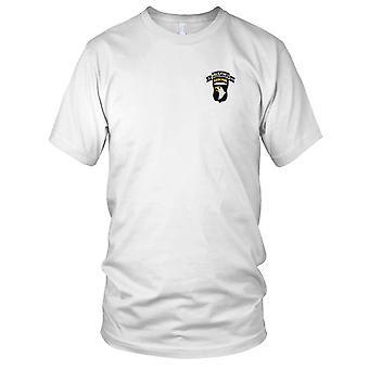 US Army - 101 st Airborne Division infanterie de HOMP 506e régiment 3e bataillon choc Force Patch brodé - Mens T Shirt