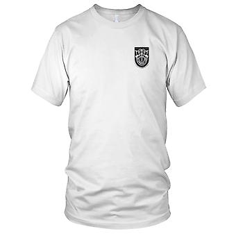US Army - 5: e Special Forces Group blixt med Crest broderad Patch - Mens T Shirt
