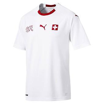 2018-2019 سويسرا بوما بعيداً القميص لكرة القدم