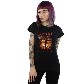Svart slør bruder kvinners Vale Cover t-skjorte