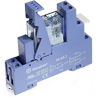 Finder 49.61.9.012.0050 Relay Interface Module 1 changeover contact 12 V DC IP20
