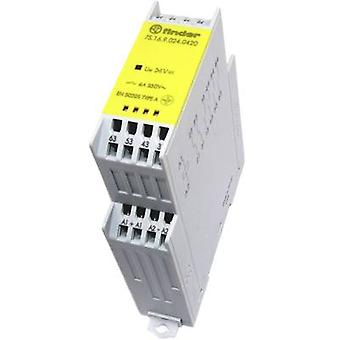 Finder 7S.16.9.024.0420 - 6A Relay modul med tvangs guidede kontakter 4PST-nei, DPST-NC 250V AC IP20