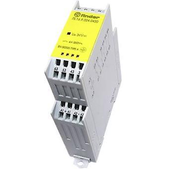 Finder 7S.16.9.024.0420 - 6A Relämodul med påtvingat guidade kontakter 4PST-Nej, DPST-NC 250V AC IP20