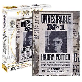 Harry Potter oönskade No.1 1000 bit pussel 690 X 510 Mm