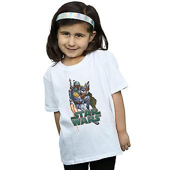 Boba Fett de Star Wars chicas despedido por t-shirt