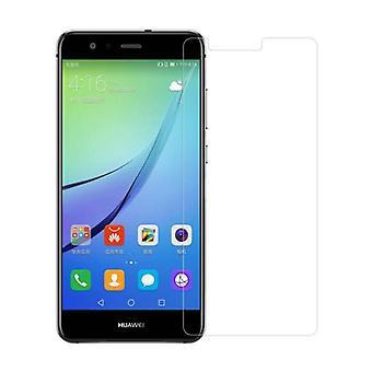 Stoff zertifiziert® Bildschirmschutz Huawei P10 Lite gehärtetem Glas Film