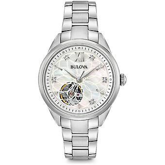 Булова Женские часы Классические автоматические 96P 181
