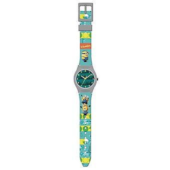 Sługusów analogowy zegarek zielony