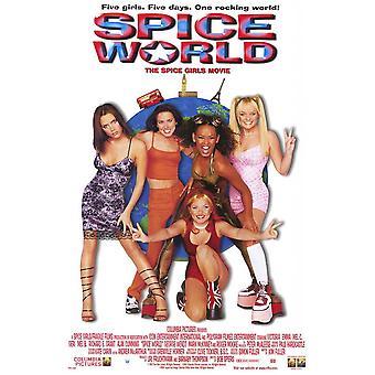Spice World Film Movie Poster (11 x 17)