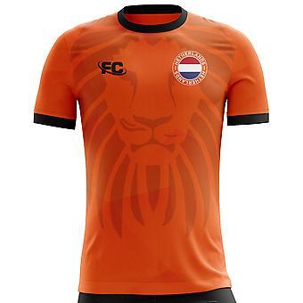 2018-2019 Holland Fans kultur Hem Concept skjorta