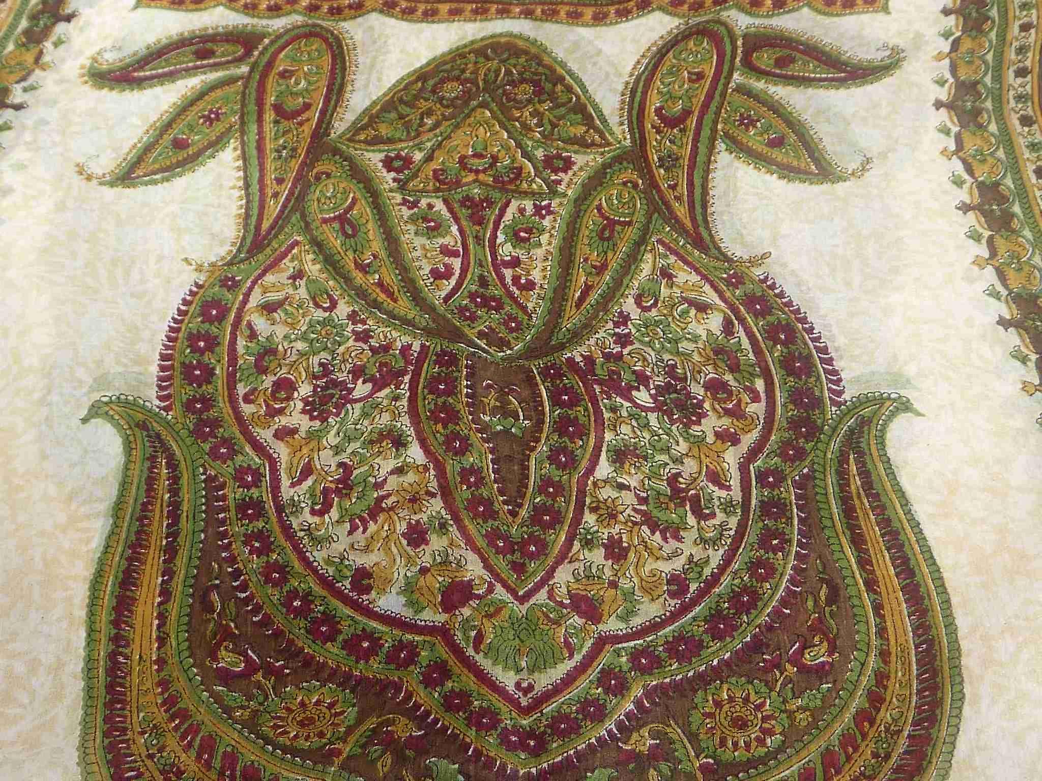 Mulberry Silk Traditional Long Scarf Mina Caramel by Pashmina & Silk