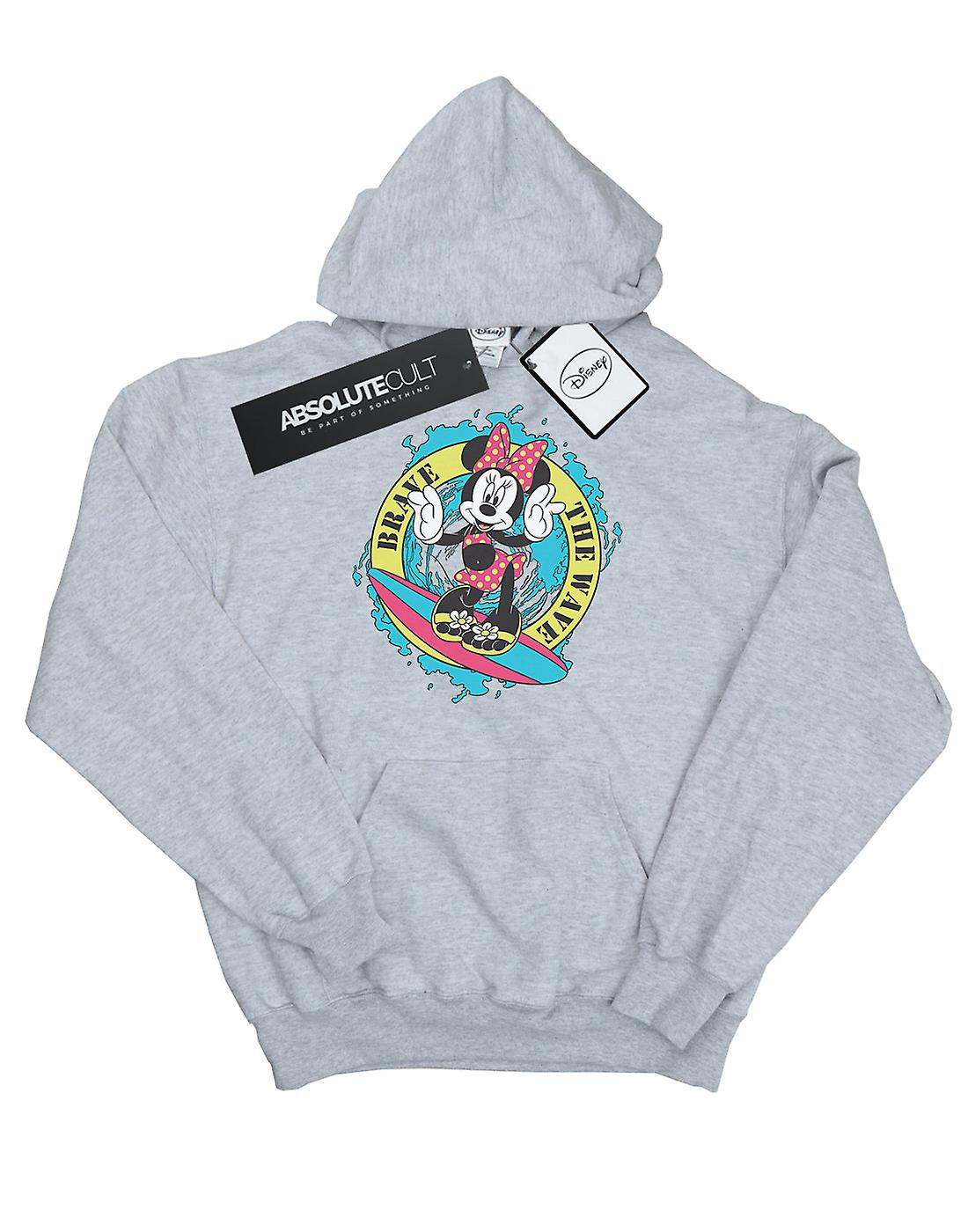 Disney Women's Minnie Mouse Brave The Wave Hoodie