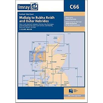 Imray Chart - Mallaig to Rudha Reidh and Outer Hebrides (New edition)