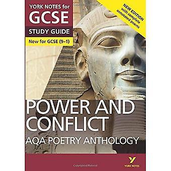 Anthologie de la poésie AQA - pouvoir et conflit: Notes de York de GCSE (9 - 1): deuxième édition