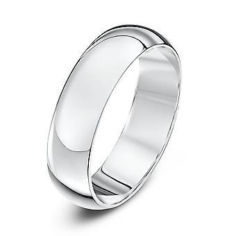 Anneaux de mariage Star Platinum Heavy D 5mm bague de mariage