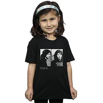 The Doors Girls Jim Morrison Mugshot T-Shirt