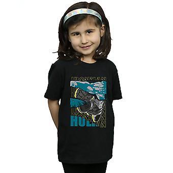 Marvel meisjes Avengers Iron Man en Hulk Collage T-Shirt