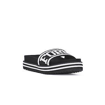 Fornarina beach 2 black shoes