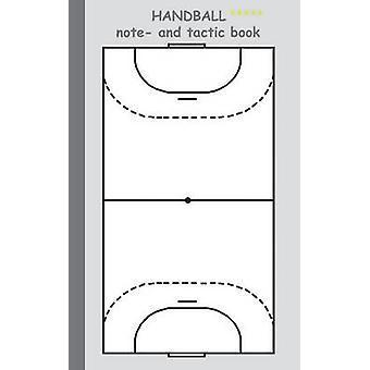 Håndbold 2 i 1 Tacticboard og projektmappe, uddannelse af Taane & Theo von