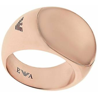 Emporio Armani Ladies Gold Plated Ring - Egs1910221