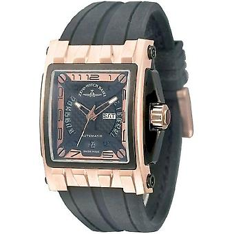 Zeno-Watch miesten katsella mistery suorakulmainen automaattinen 4239-RBG-I6
