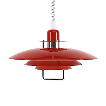 BELID Primus II 430mm stijgen en dalen van de hanger licht In het rood