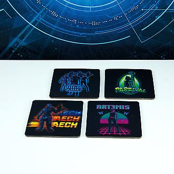 Ready Player One 3D Coasters