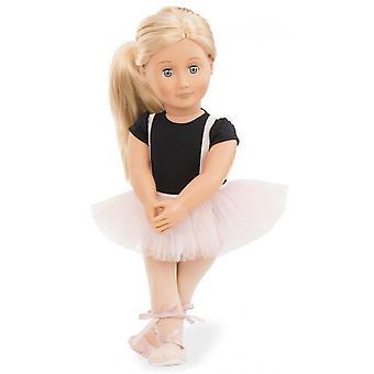 Nossa geração boneca violeta Anna