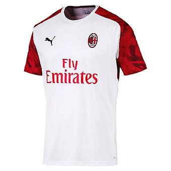 2019-2020 AC Milan Puma Training shirt (branco)-Kids