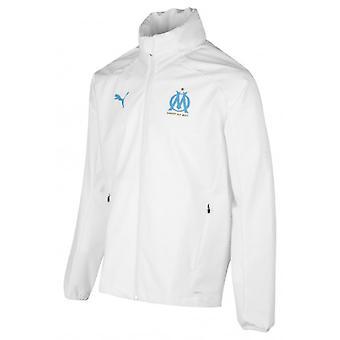 2019-2020 Marseille sade takki (valkoinen)
