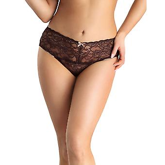 Nessa NO1 Women's Abbi Chocolate Knickers Panty Full Brief