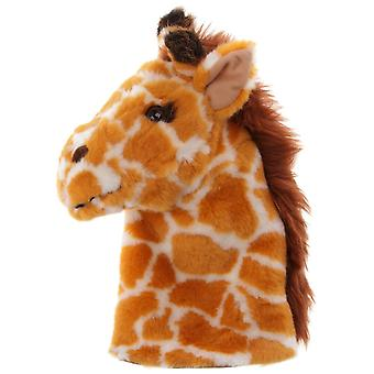 Hand Puppet - CarPets Glove - Giraffe Soft Doll Plush PC008014