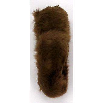 Dennis Basso faux pels hode varmere Cognac Brown A211495